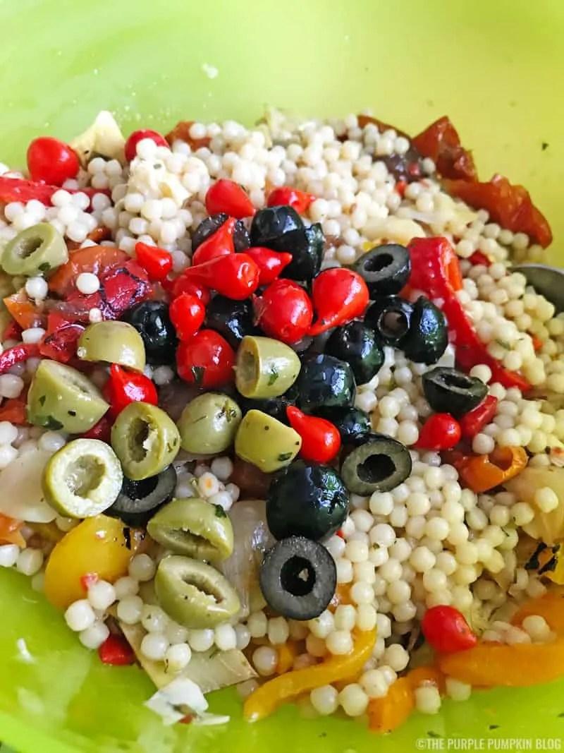 Giant Couscous Antipasti Salad