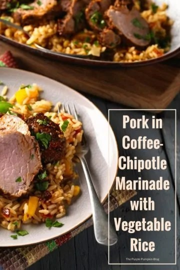 Pork in Coffee-Chipotle Marinade with Vegetable Rice. On those crisp, autumnal evenings, try this comforting dish that the whole family will enjoy. A twist on a traditional, Mexican chipotle pork, the addition of coffee fuses perfectly with the marinade and creates a subtle, unique flavour.