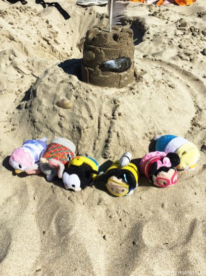 #TsumTsumTravels on the beach in Portugal
