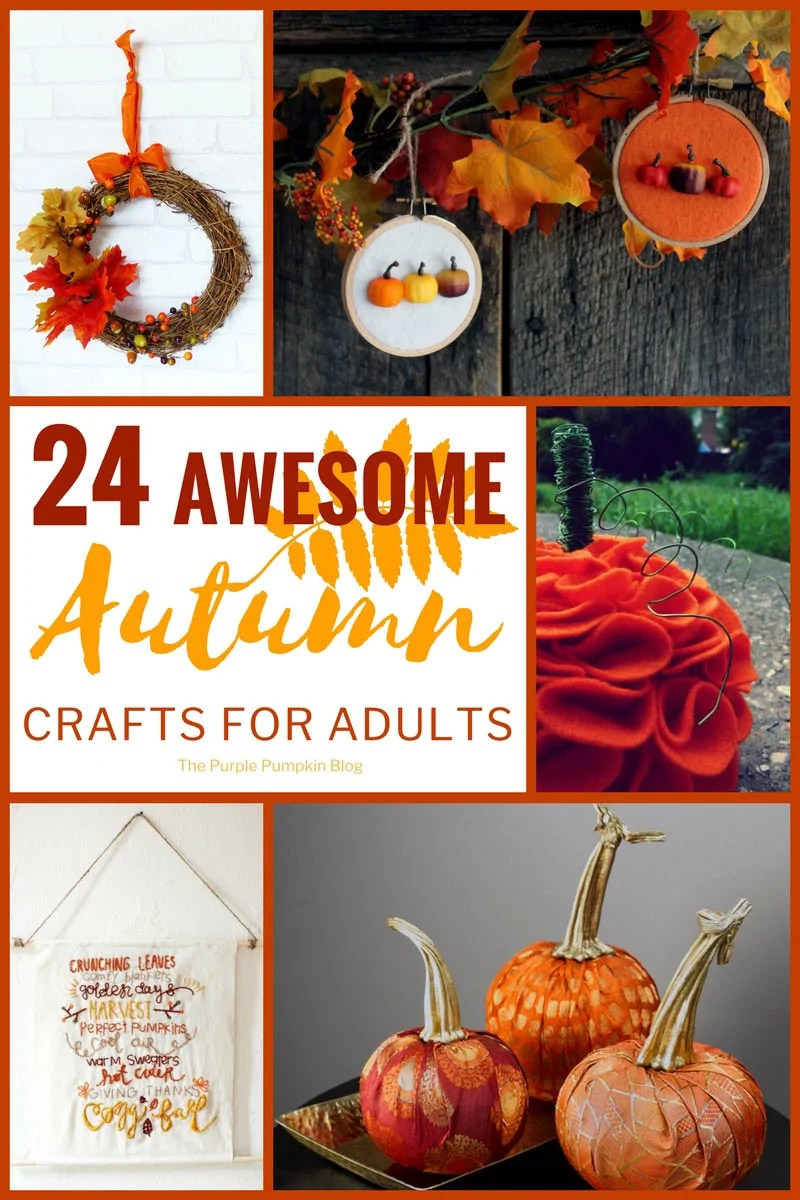 24 Awesome Autumn Crafts For Adults