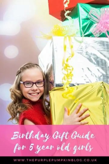 Birthday Gift Guide for 5 year old girls