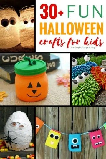 This is a awesome roundup of 30+ Fun Halloween Crafts for Kids including stone painting, monster making, Halloween garlands, spooky lanterns, no carve pumpkins and lots more! Adult supervision may be required for some of the crafts, depending on the age of your child and chosen craft. Whichever project you decide to do, there is plenty of spooky fun crafts for kids of all ages here!