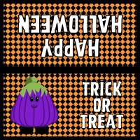 Halloween Favor Bag Labels
