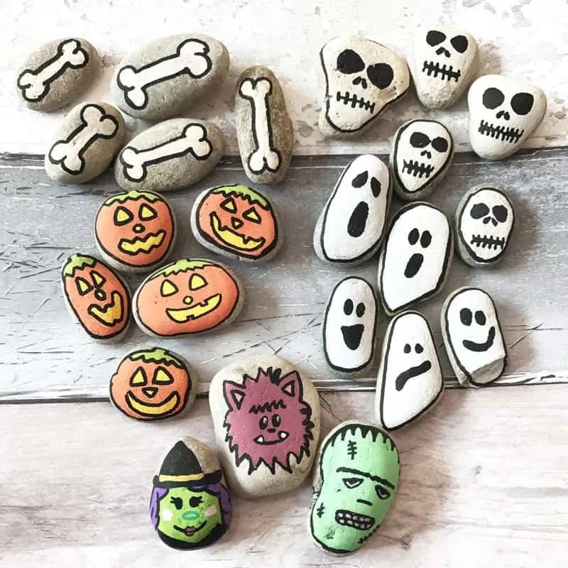 Halloween Stones