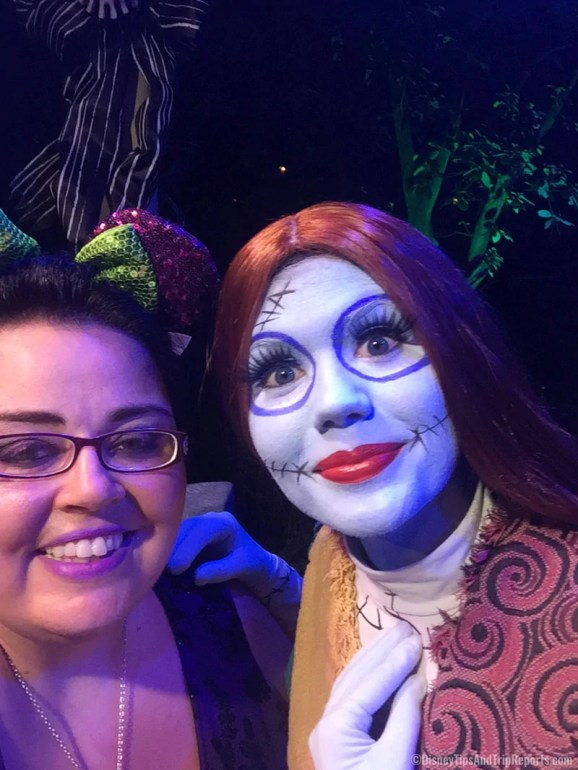 Jack & Sally at Mickey's Not-So-Scary Halloween Party