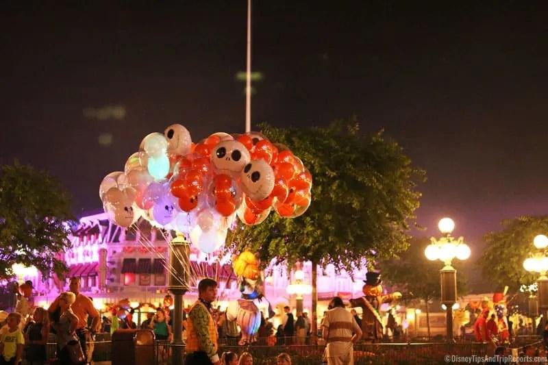 Halloween Balloons at Magic Kingdom