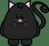 Cute Halloween Kitty by The Purple Pumpkin Blog