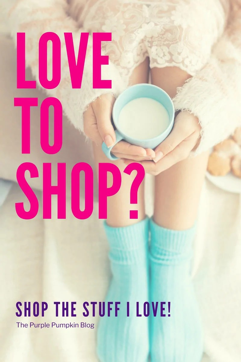 Love To Shop? A curated shopping list from The Purple Pumpkin Blog - Shop the stuff I love!