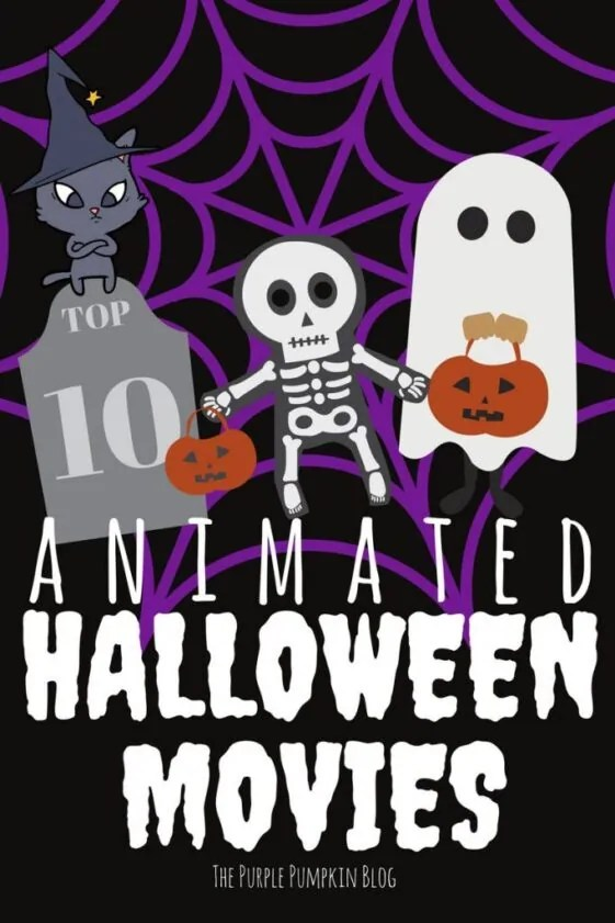 Top 10 Animated Halloween Movies - some not-so-scary movies for kids (and fraidy-cat adults!)