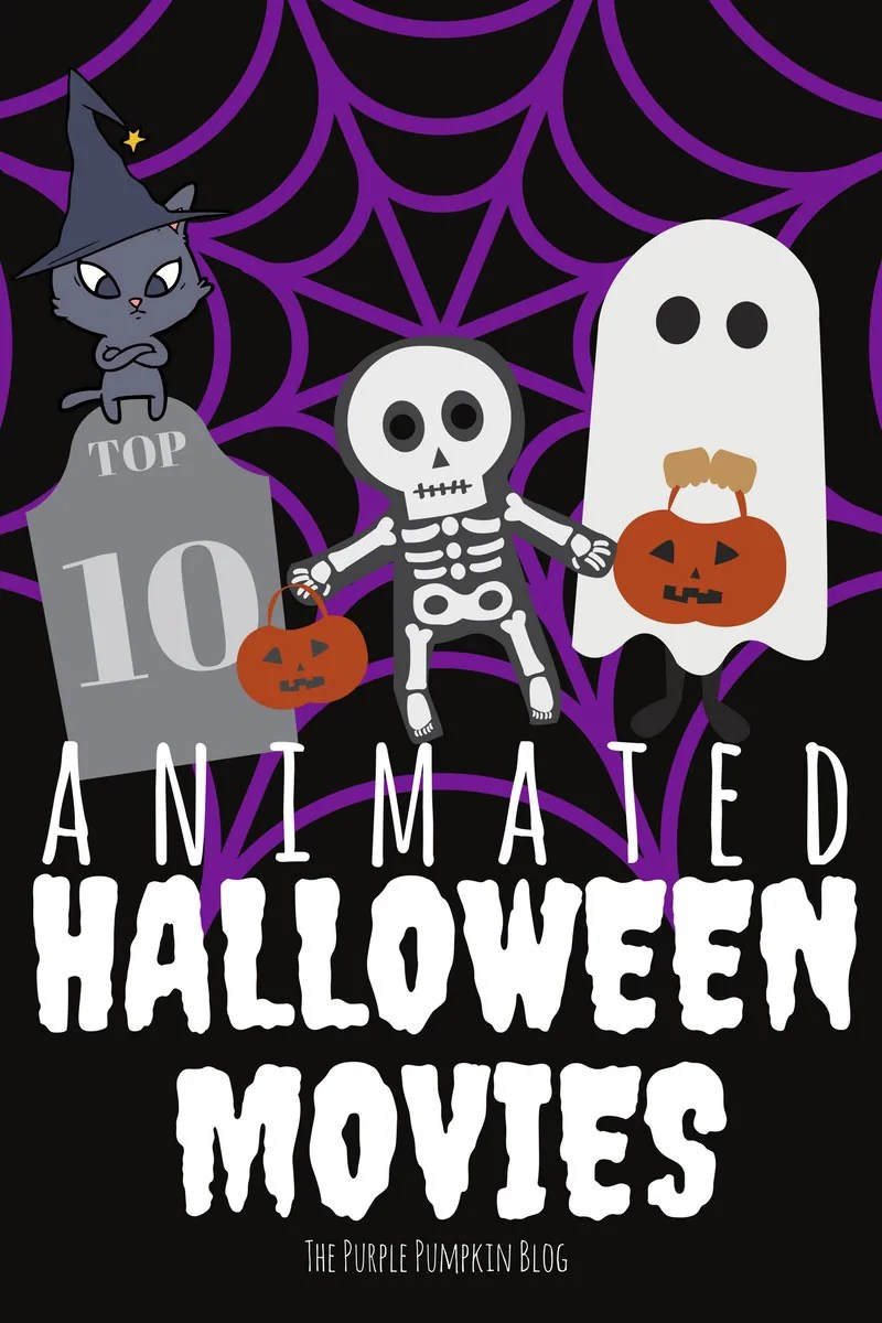 top 10 animated halloween movies!