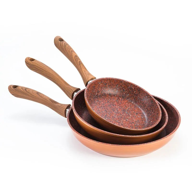 Copper Stone Pans