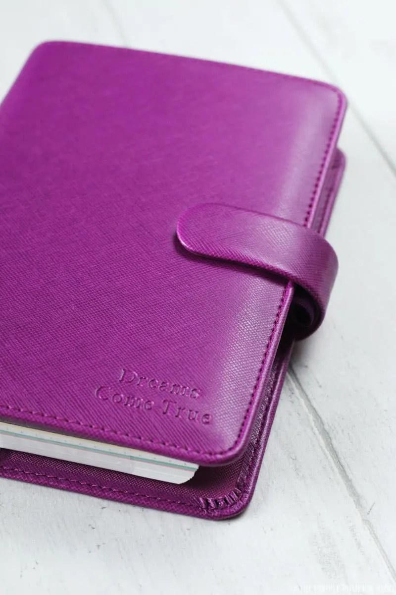 Filofax Saffiano A5 Organiser - Raspberry