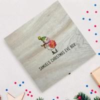 Personalised Snowman Christmas Eve Box