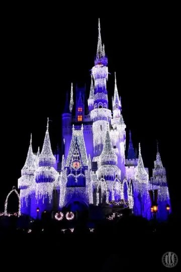 Project 365 - 2017 - Day 349 - Frozen Cinderella Castle at Magic Kingdom