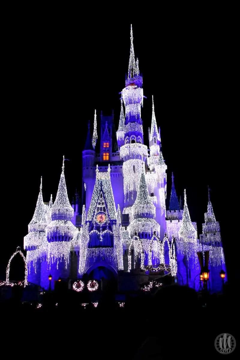 Project 365 - 2017 - Day 349 - Frozen Cinderella Castle at Magic Kingdom