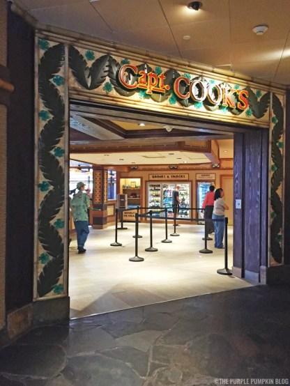 Capt. Cook's, Disney's Polynesian Village Resort