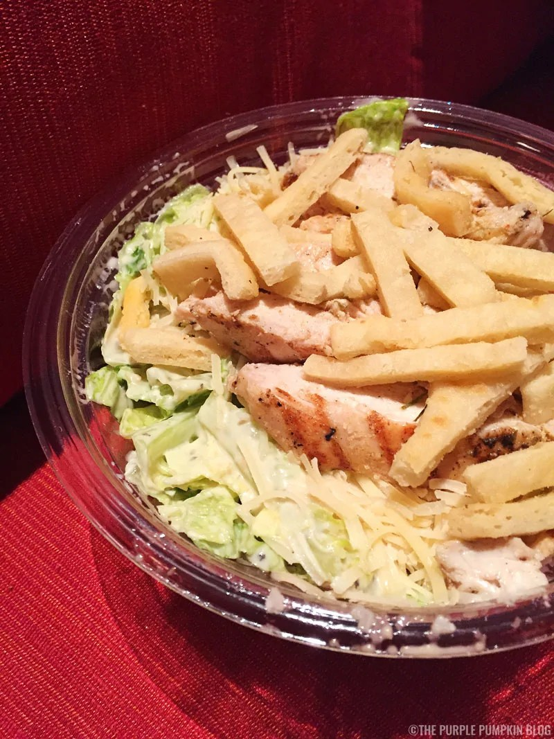 Chicken Caesar Salad, Capt. Cook's, Disney's Polynesian Village Resort