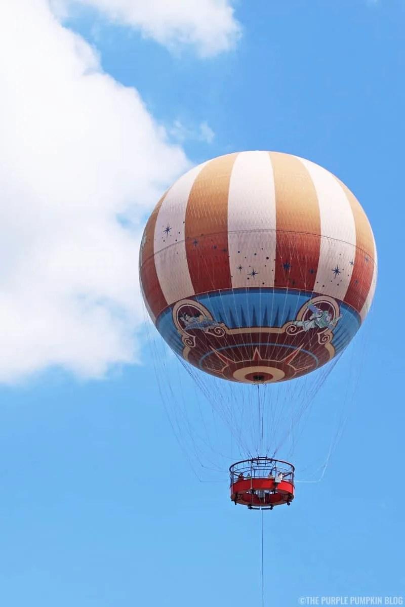Disney Springs - Characters in Flight