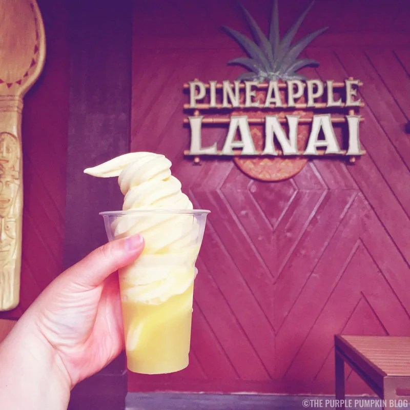 Dole Whip, Pineapple Lanai