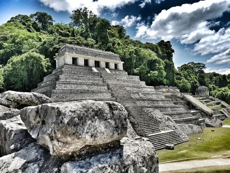 Palenque Pyramid - Mexico