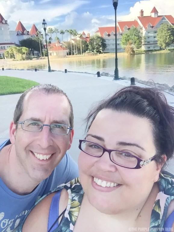 Us at Disney's Grand Floridian Resort & Spa