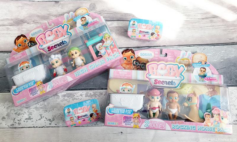 BABY Secrets Activity Packs & Single Packs