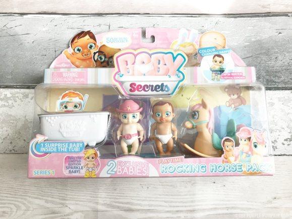 BABY Secrets Rocking Horse Set