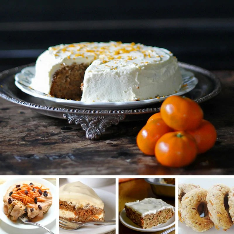 Deliciously Different Carrot Cake Recipes - doughnuts, pancakes, cheesecake and more!
