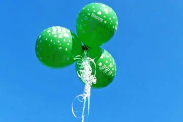 St Patricks Day Balloonos