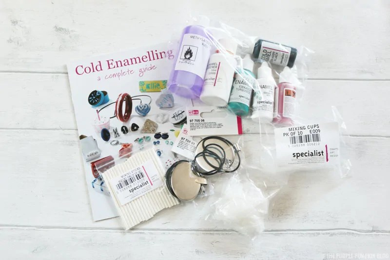 Cold Enamel Jewellery Making Kit