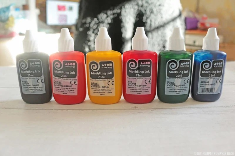 Marbling Ink Bottles