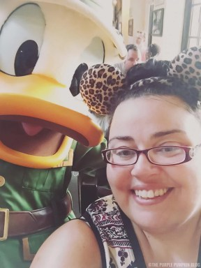 Tusker House - Me & Donald Duck