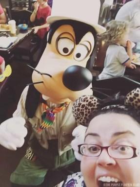 Tusker House - Me & Goofy