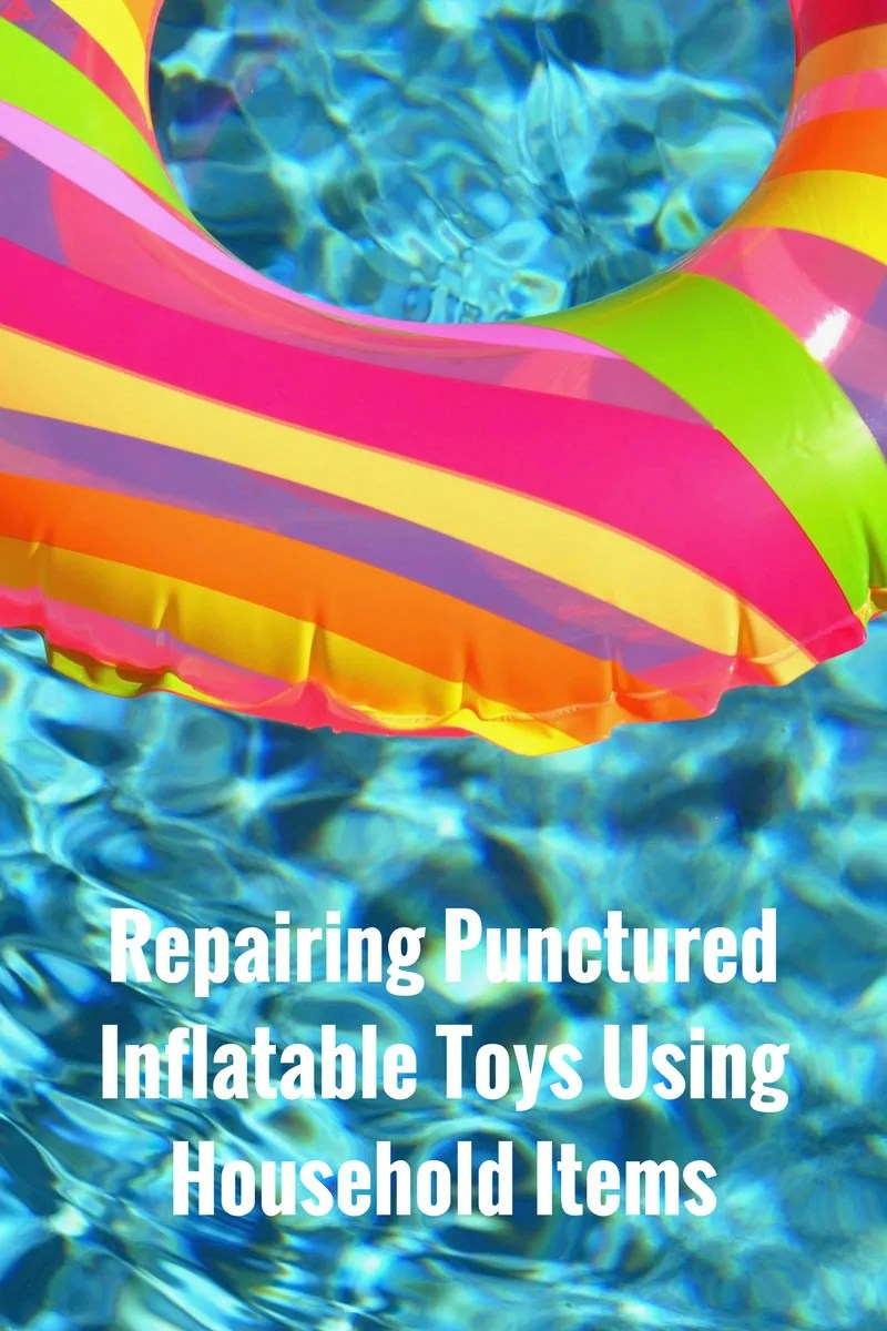 Repairing Punctured Inflatable Toys Using Household Items