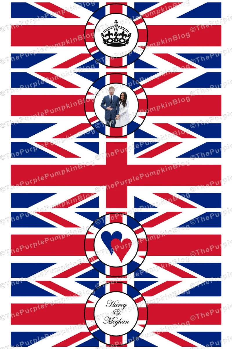 Royal Wedding Napkin Wrappers