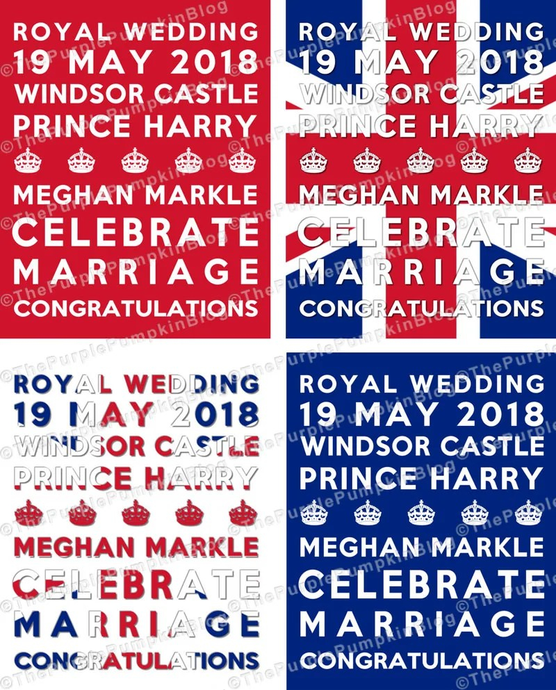 Royal Wedding Subway Art Poster