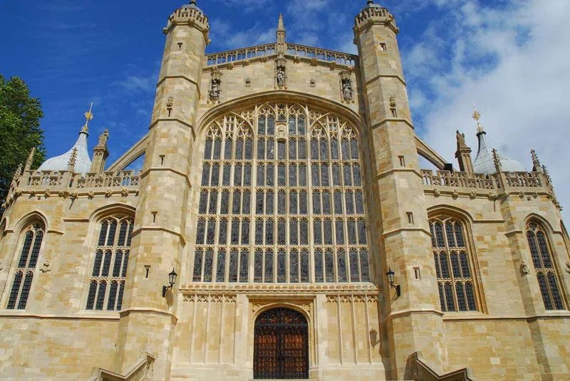 Windsor Castle St Georges Chapel