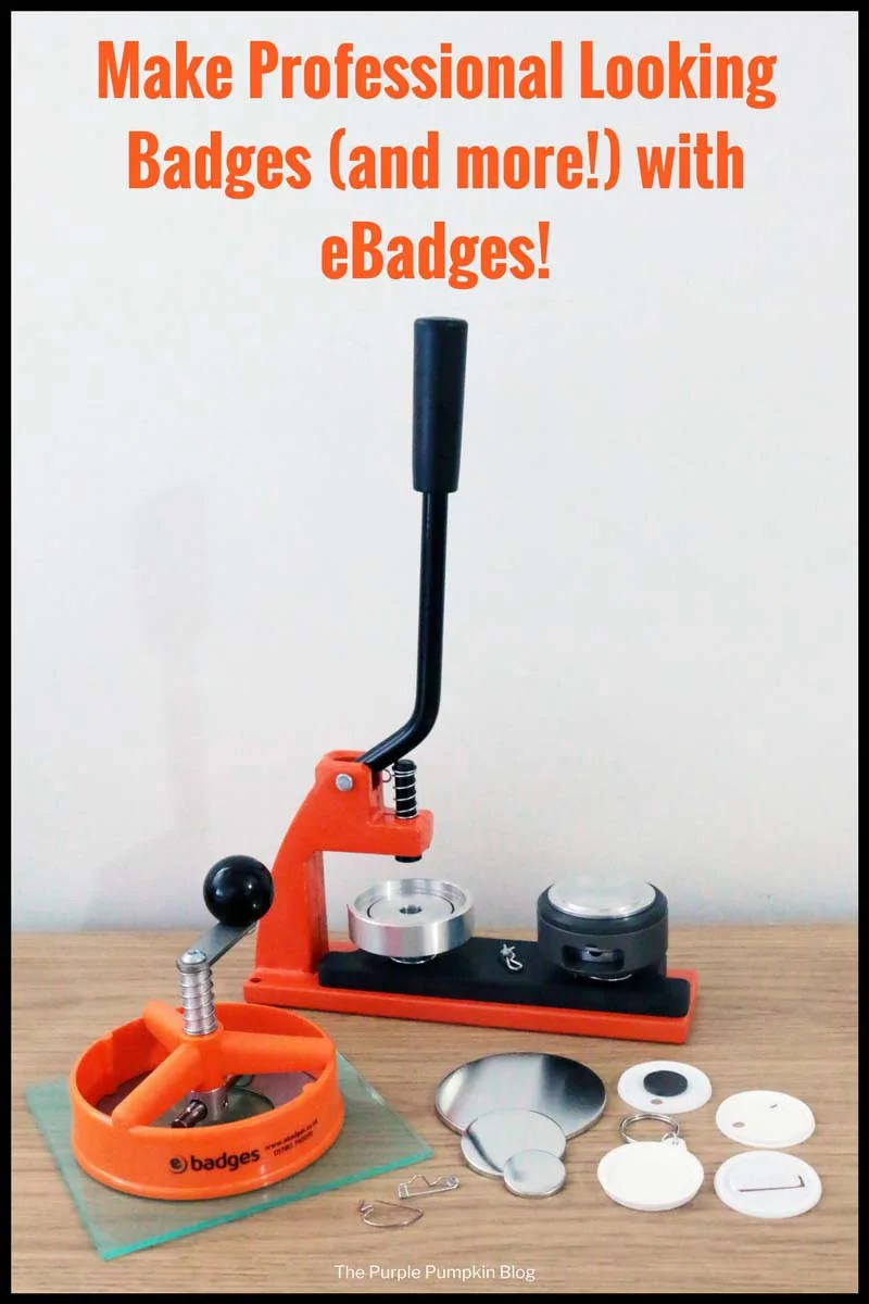 Make Professional Looking Badges (and more!) with eBadges! The Micro Badge Machine is a very easy to use badge maker and perfect for crafters at home, or for youth groups, schools, clubs etc. Larger machines are also available. Can make badges in various sizes, as well as keyrings, fridge magnets, and mirrors! Lots of scope for creativity! #badgemaking #badges #pins
