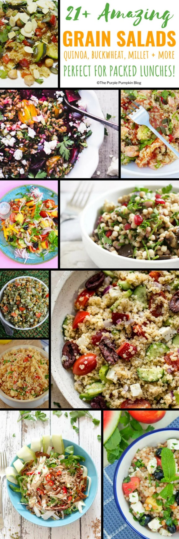 Amazing Grain Salads