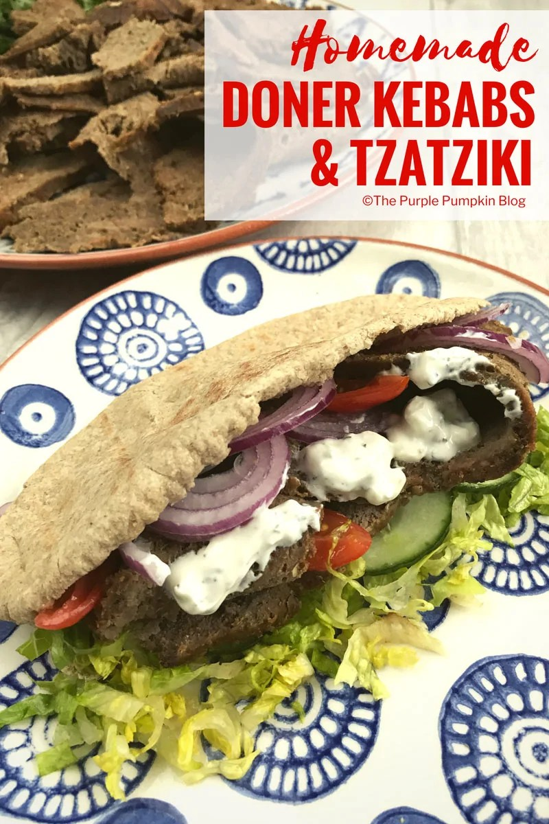 Homemade Doner Kebabs & Tzatziki. This recipe for homemadeDoner Kebabs is really easy to make, and for the same price of maybe one doner from a kebab van or shop, you can make enough for the whole family!