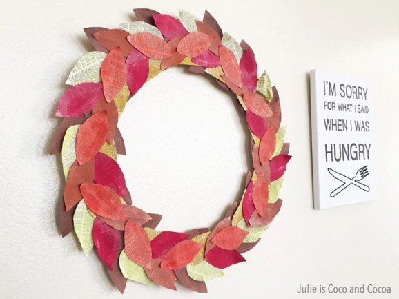 diy-fall-book-page-wreath-thanksgiving-hungry