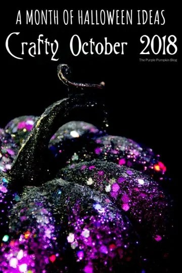 A Month of Halloween Ideas - Crafty October 2018