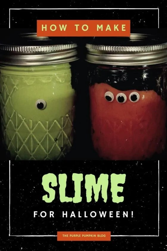 How To Make Slime for Halloween