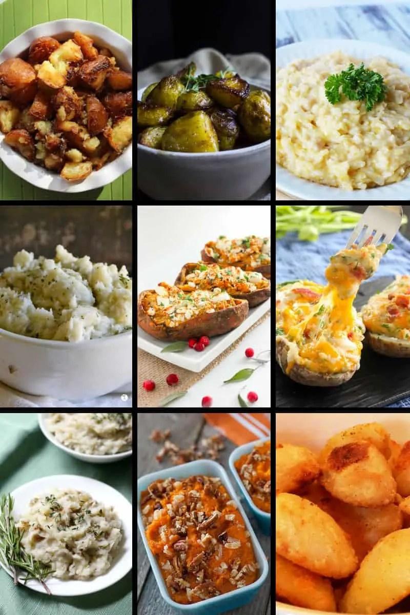 Christmas Side Dishes - Potato Sides