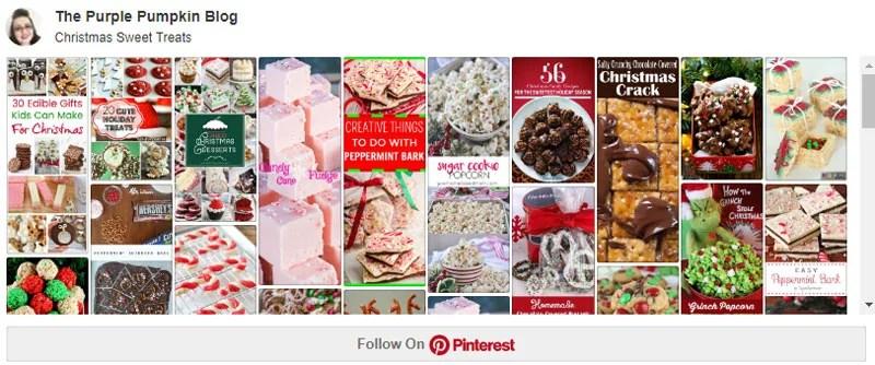 Christmas Sweet Treats Pinterest Board