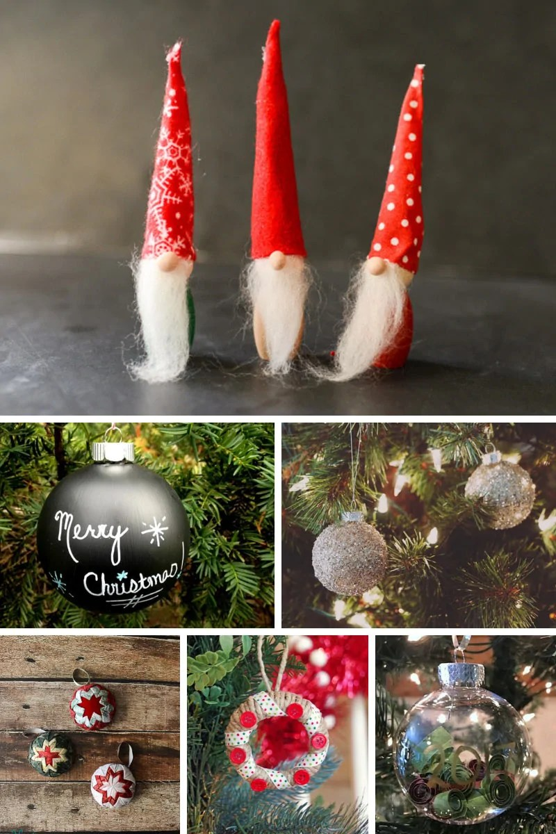30+ Homemade Christmas Ornaments that you can DIY this Holiday Season!