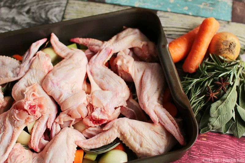 Chicken Wings in Make-Ahead Turkey Gravy for Christmas or Thanksgiving (5)