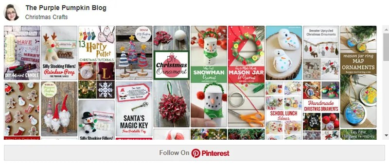 My Christmas Crafts Board on Pinterest