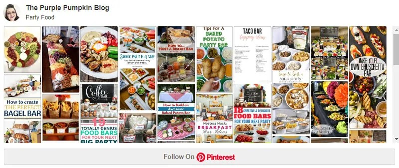 Party Food Board on Pinterest