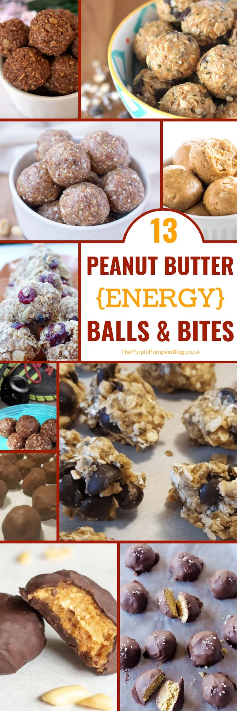 For when you are craving something sweet, but on the healthier side, why not turn to one of these 13 Peanut Butter Energy Balls & Bites Recipes? This roundup of peanut butter energy balls and bites include: Low Carb; Keto; Gluten-Free, Sugar-Free, Grain-Free, and Vegan recipes. They are also all no-bake, making them so simple and quick to prepare! #PeanutButterEnergyBalls #EnergyBalls #lowcarb #keto #fatbombs